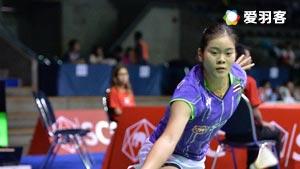 布桑兰VS吴堇溦 2016泰国公开赛 女单半决赛视频