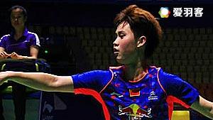 孙瑜VS李汶妹 2016全国团体锦标赛 女单小组赛视频