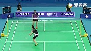 吕艳妃VS彭沁 2016全国团体锦标赛 女团小组赛视频