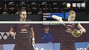 尼尔森/佩蒂森VS乔普拉/瑞迪 2016丹麦公开赛 混双1/16决赛视频