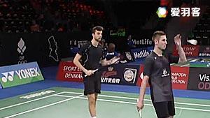 安东森/莫滕森VS阿伦茨/鲁本 2016丹麦公开赛 男双资格赛视频