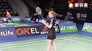 朱莉VS达尔 2016丹麦公开赛 女单资格赛视频