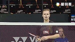 穆斯特VS卡什亚普 2016丹麦公开赛 男单资格赛视频