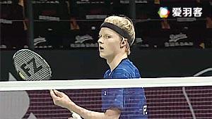 安东森VS埃文斯 2016丹麦公开赛 男单资格赛视频