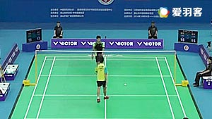 叶炳宏VS白玉鹏 2016全国团体锦标赛 男团季军赛视频