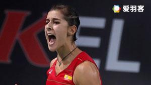 山口茜VS马琳 2016丹麦公开赛 女单半决赛视频