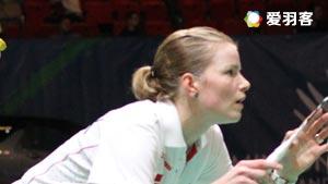 尼尔森/佩蒂森VS诺丁汉/艾米莉 2016法国公开赛 混双1/16决赛视频