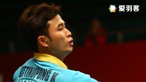 基丁柳蓬/德差波尔VS刘成/郑思维 2016法国公开赛 男双1/16决赛视频