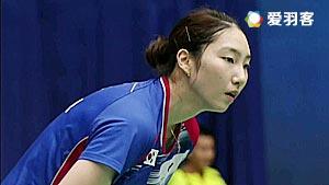 成池铉VS许雅晴 2016法国公开赛 女单1/8决赛视频