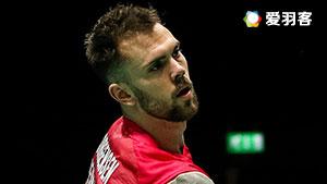 伍家朗VS约根森 2016法国公开赛 男单1/4决赛视频