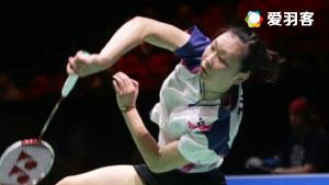 张蓓雯VS山口茜 2016法国公开赛 女单1/4决赛视频