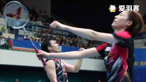 高成炫/金荷娜VS数野健太/栗原文音 2016法国公开赛 混双1/4决赛视频