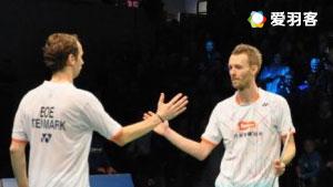 鲍伊/摩根森VS索伦森/安德斯 2016法国公开赛 男双半决赛视频