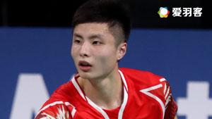石宇奇VS许仁豪 2016法国公开赛 男单半决赛视频