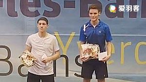 山姆VS波奇塔列夫 2016瑞士国际赛 男单决赛视频