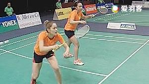 塞蒂亚娜/格罗娅VS米特索娃/内德尔奇娃 2016荷兰公开赛 女双1/16决赛视频