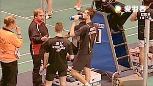 阿伦茨/鲁本VS埃特里/雷迪 2016荷兰公开赛 男双1/16决赛视频