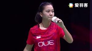 梁晓宇VS普里斯基拉 2016荷兰公开赛 女单1/4决赛视频