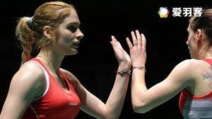 加夫列拉/斯托伊娃VS拉菲尔/安妮 2016荷兰公开赛 女双1/4决赛视频