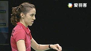 许雅晴VS科拉莱斯 2016荷兰公开赛 女单半决赛视频