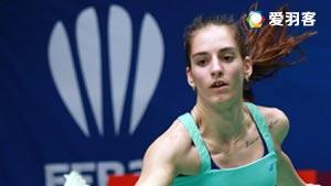加夫列拉/斯托伊娃VS吴亚青/林秋仙 2016荷兰公开赛 女双半决赛视频