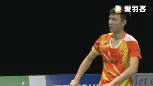 王子维VS霍尔斯特 2016荷兰公开赛 男单半决赛视频