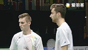 克里斯蒂安森/大卫VS阿伦茨/鲁本 2016荷兰公开赛 男双半决赛视频