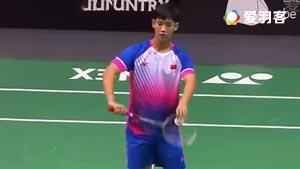 孙飞翔VS梁峻豪 2016世界青年羽毛球锦标赛 混合团体决赛视频