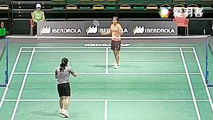 玛莉丝卡VS周士君 2016世界青年羽毛球锦标赛 混合团体小组赛视频