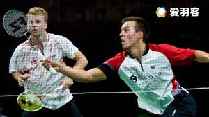 索伦森/安德斯VS伊万诺夫/索松诺夫 2016中国公开赛 男双1/16决赛视频
