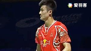 约根森VS谌龙 2016中国公开赛 男单决赛视频