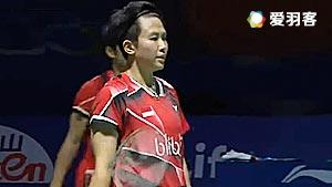 艾哈迈德/纳西尔VS张楠/李茵晖 2016中国公开赛 混双决赛视频