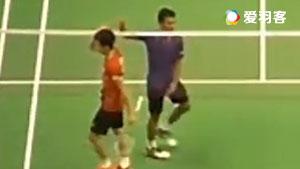 萨米尔VS张维峰 2016香港公开赛 男单1/4决赛视频