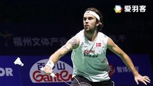 约根森VS黄永棋 2016香港公开赛 男单1/4决赛视频