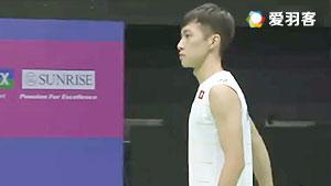 伍家朗VS胡赟 2016香港公开赛 男单半决赛视频