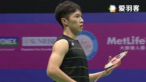 伍家朗VS萨米尔 2016香港公开赛 男单决赛视频