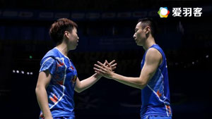 张楠/李茵晖VS王齐麟/李佳馨 2017中国大师赛 混双1/4决赛视频