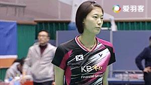 高成炫/金荷娜VS姜志旭/严惠媛 2016韩国大师赛 混双1/4决赛视频
