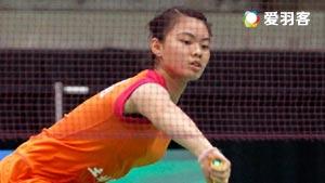 金在恩VS李嘉新 2016韩国大师赛 女单1/4决赛视频