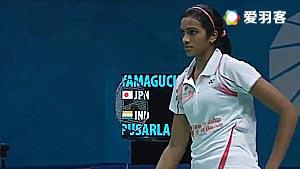 辛德胡VS山口茜 2016世界羽联总决赛 女单小组赛视频