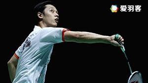 茨维布勒VS胡赟 2016世界羽联总决赛 男单小组赛视频
