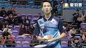 周泽奇VS郭凯 2017中国羽超联赛 混合团体小组赛视频