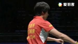 骆赢/骆羽VS黄东萍/唐渊渟 2017中国羽超联赛 混合团体小组赛视频