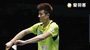 谌龙VS王睁茗 2017中国羽超联赛 混合团体小组赛视频