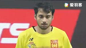 普拉诺VS萨拉巴 2017印度超级联赛 混合团体小组赛视频