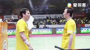 高成炫/柳延星VS李龙大/尼迪蓬 2017印度超级联赛 混合团体小组赛视频