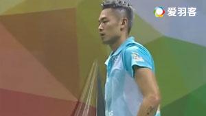 林丹VS乔斌 2017中国羽超联赛 混合团体小组赛视频