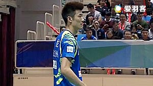 谌龙VS田厚威 2017中国羽超联赛 混合团体小组赛视频