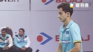 卡什亚普VS乔希 2017印度超级联赛 混合团体小组赛视频
