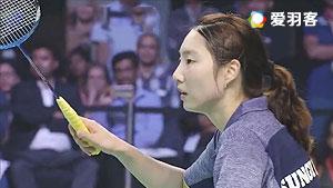 成池铉 VS马琳 2017印度超级联赛 混合团体半决赛视频
